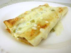 White Chicken Enchiladas   Plain Chicken