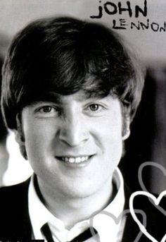 John Lennon. He looks like he's up to no good.