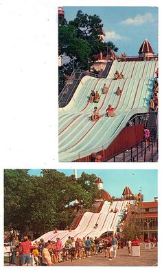 cedar point in the 1970's | Cedar Point Sky Slide