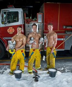 Awww! What cute puppies! Happy #FiremanFriday everyone!