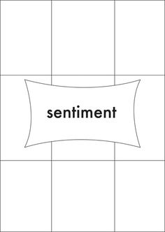 simple card sketch