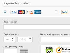 credit card types visa mastercard amex