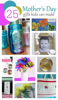Cheap and easy Mother's Day gifts kids can make!