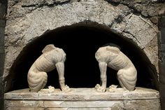 IMAGE: Greek Ministry of Culture...Update on Amphipolis excavations.