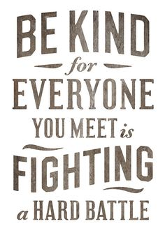 Empathy. We should all remember this.