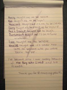 Written by a Harry Potter fan
