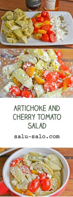 ... Cherry Tomato Salad on Pinterest | Tomato Salad, Salad and Tomatoes