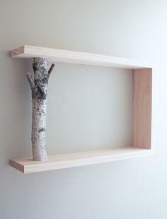 Birch Branch Shelf