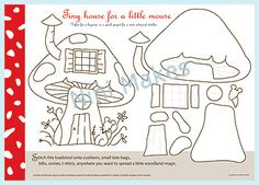 Mouse House pattern