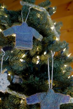 Tiny Sweater Christmas Ornament