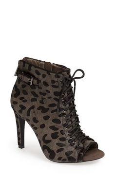 Jessica Simpson 'Erlene' Open Toe Bootie (Women) available at #Nordstrom