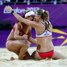 2012 Summer Olympics -- Misty May-Treanor, Kerri Walsh Jennings win beach volleyball gold - ESPN