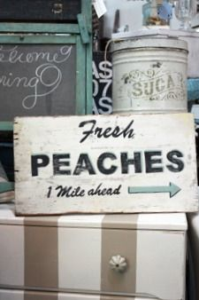 Just Peachy on Pinterest | Peaches, Easy Peach Cobbler and Cream