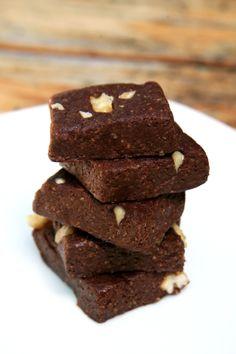 Low calorie no bake brownies