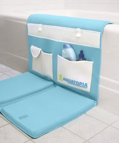 bath kneeler... They make these?! ...I guess I wouldn't know since I don't have kids and am not pregnant but good to know for that 'file tucked away just in case'