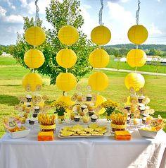 yellow sunshine party!!!