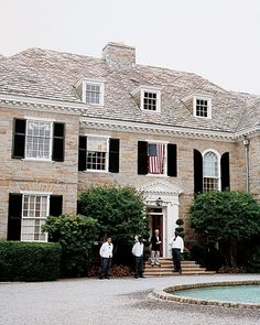 Beautiful luxury home for American brick and stone