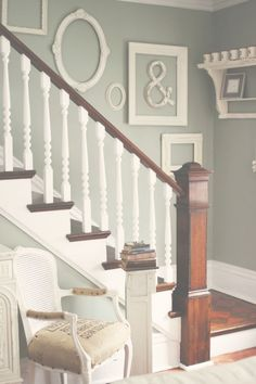 It's so hard to decorate a stairway this is perfect.