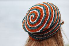 Labyrinth - crochet hat by plainsight, via Flickr