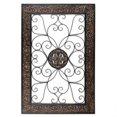 Embossed Scroll Plaque: Perfect for the bedroom #kirklands #beautifulbedrooms