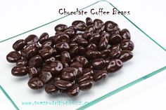 Dark Chocolate Covered Coffee Beans to Give You a Delish Caffeine Boost ! Easy To Make !!