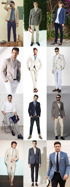 Mens Business Casual Lookbook For Spring/Summer