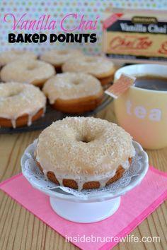 Baked Vanilla Bean Doughnuts | Recipe | Beans, Vanilla and Donuts