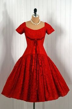1950's Red Dress