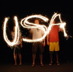 How To Take Sparkler Photographs For The 4th Of July!