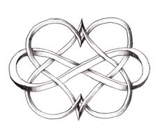 Infinity with Two Hearts - Tattoo Ideas