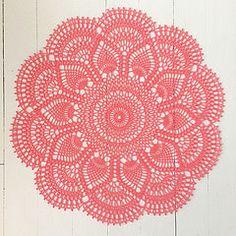 Crochet - Rugs, Pillows & Coasters on Pinterest Crochet ...