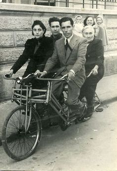 a bicycle built for 4