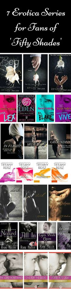 8 Erotica Series That Take 'Fifty Shades' to the Next Level