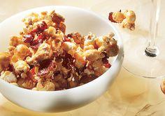Bacon and Cashew Caramel Corn