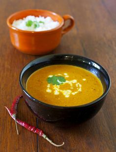Winter Squash Soup With Gruyere Croutons by shoottocook #Soup #Squash ...