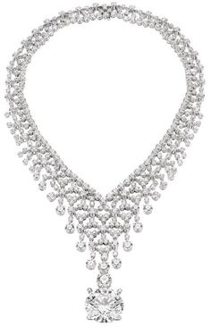 Amazing Bulgari diamond necklace