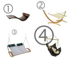 hammocks hammocks hammocks!