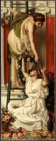 Sir Edward John Poynter  (English Classicist painter, 1836-1919)