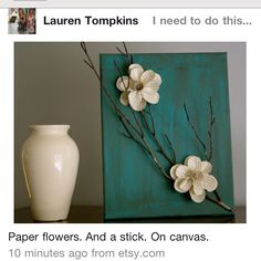 So cute, an easy project to ad to your existing decor