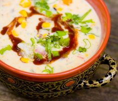Cream of Corn Chowder