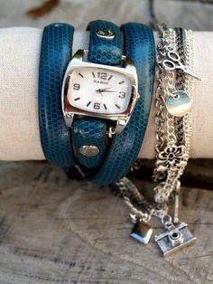 DIY wrap watch