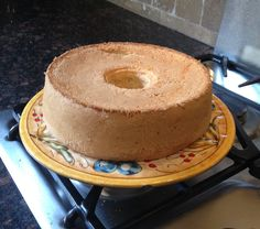 Angel Food Cake with Tropical Fruit Compote   Recipe   Food Cakes ...