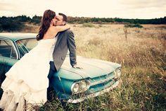 wedding car - dani stephenson