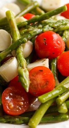 Asparagus Amandine Recipe — Dishmaps
