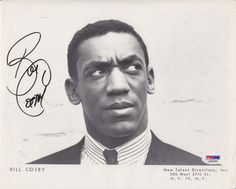 Bill Cosby in his youth.