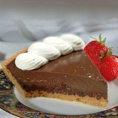 Chocolate-Peanut Butter Mud Pie #recipe | Meals.com