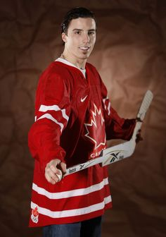 Pittsburgh Penguins Olympic Player Photo Shoot (Marc-Andre Fleury)