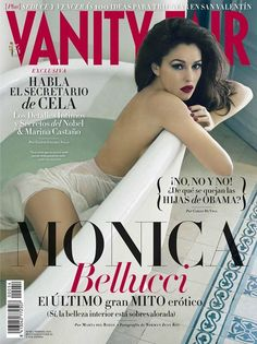 Vanity Fair España February 2013  Monica Bellucci photographed by Norman Jean Roy.
