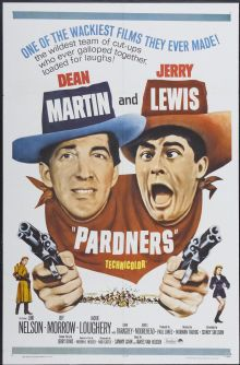 """Movie Posters:Comedy, Pardners (Paramount, R-1965). One Sheet (27"""" X 41""""). Comedy...."""