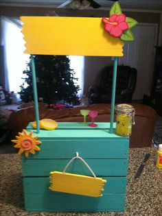 American girl lemonade stand!